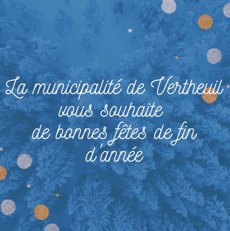 Bonnes fêtes de fin d' année à tous