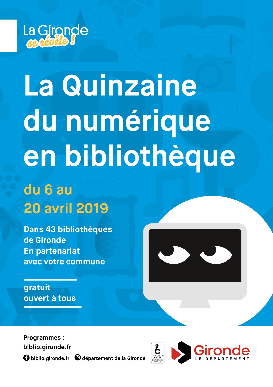 Quinzaine numérique à la bibliothèque municipale de Vertheuil