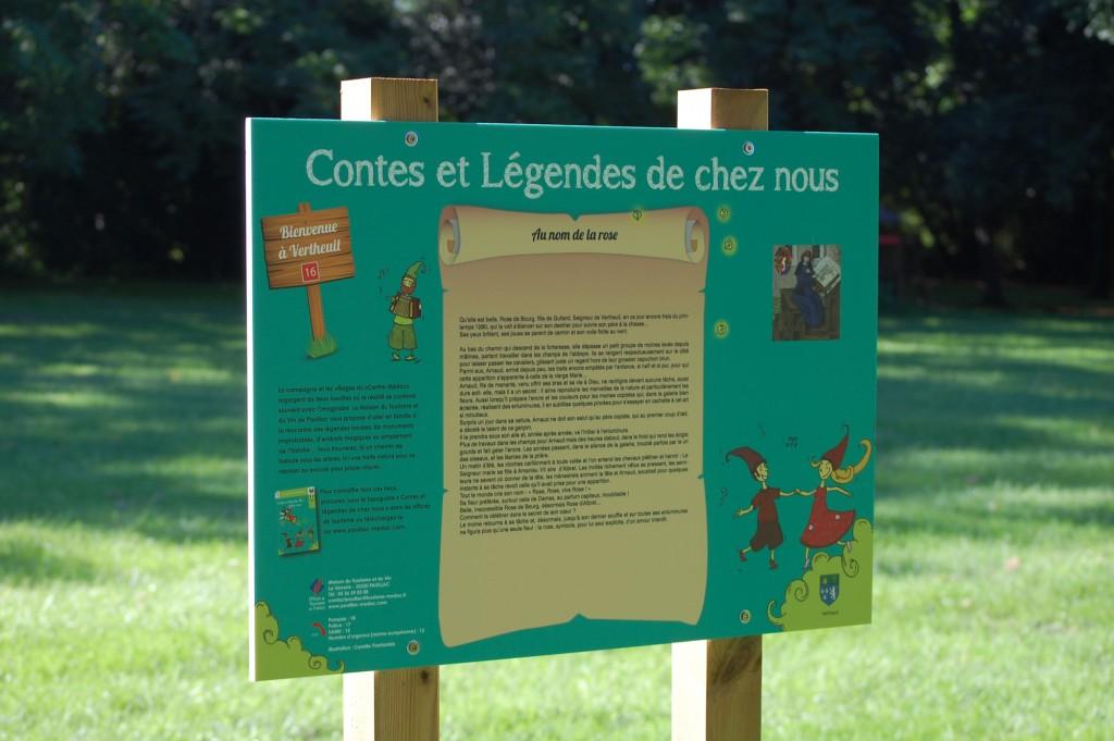 Contes et légendes : parc