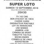 Super loto à Vertheuil