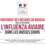 Augmentation du niveau de risque (Influenza aviaire)