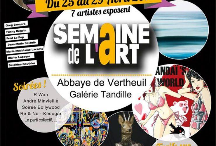 Semaine de l'Art du 25 au 29 avril