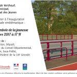 Inauguration terrain mutisport Vendredi 10 novembre à 17h