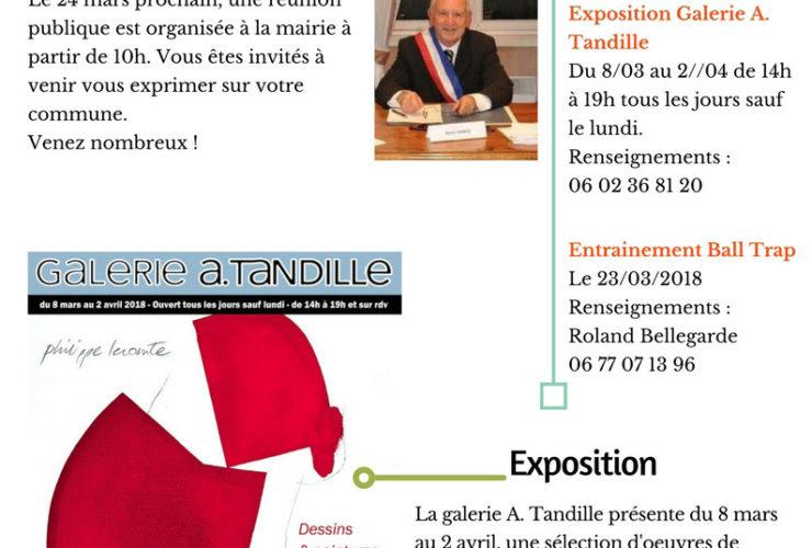 Nouveau : la newsletter de Vertheuil