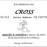 Cross de l'école Lucie Aubrac