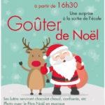 Goûter de Noël des commerçants de Vertheuil