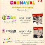 Stage CARNAVAL 17 mars ZUMBA POUR TOUTE LA FAMILLE