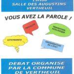Retour sur le Grand débat national à Vertheuil
