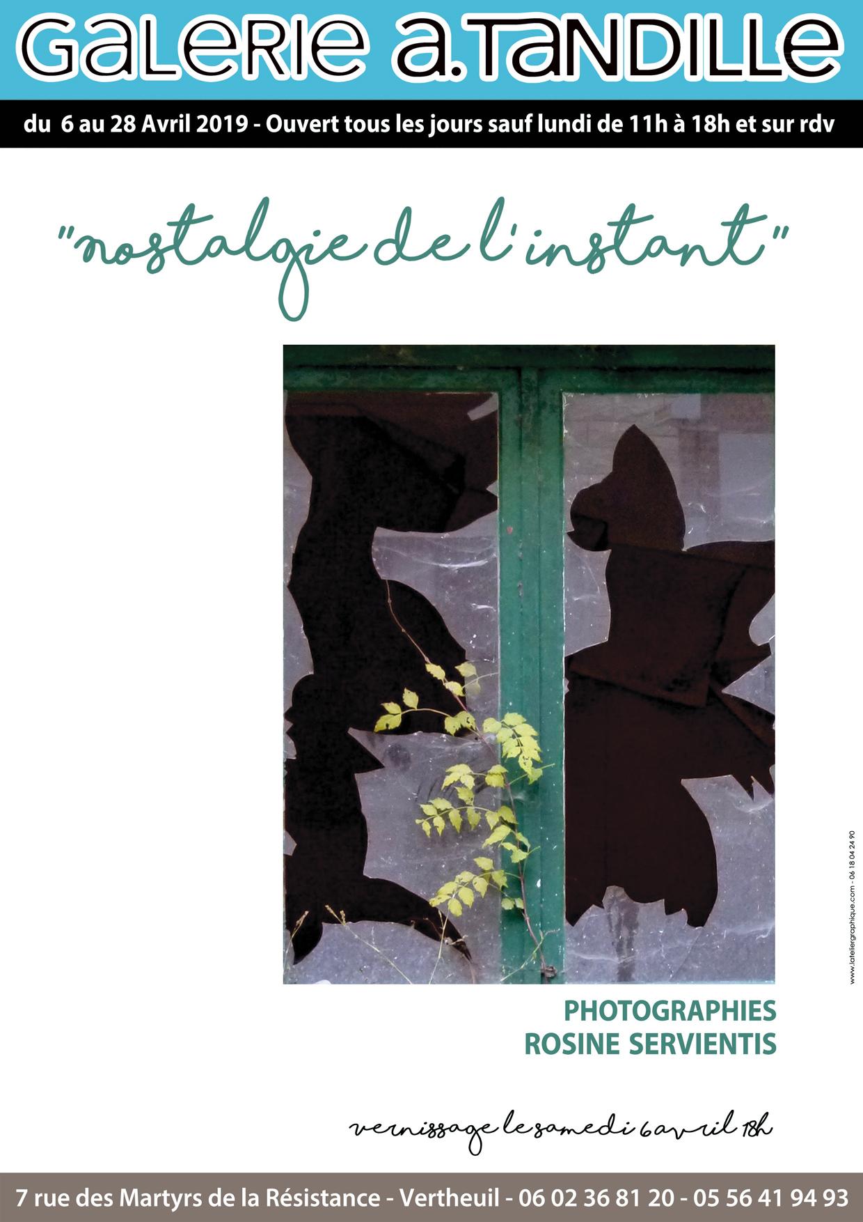 Nostalgie de l'instant – Photographies Rosine Servientis