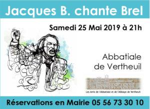 Annonce Jacques B Chante B