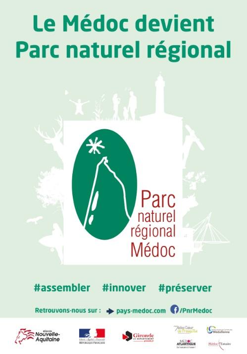 Annonce Création du Parc naturel régional Médoc