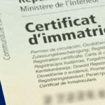 Procédures concernant le certificat d'immatriculation