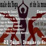 Journée du Yoga et de la Musique au Domaine de Nodris
