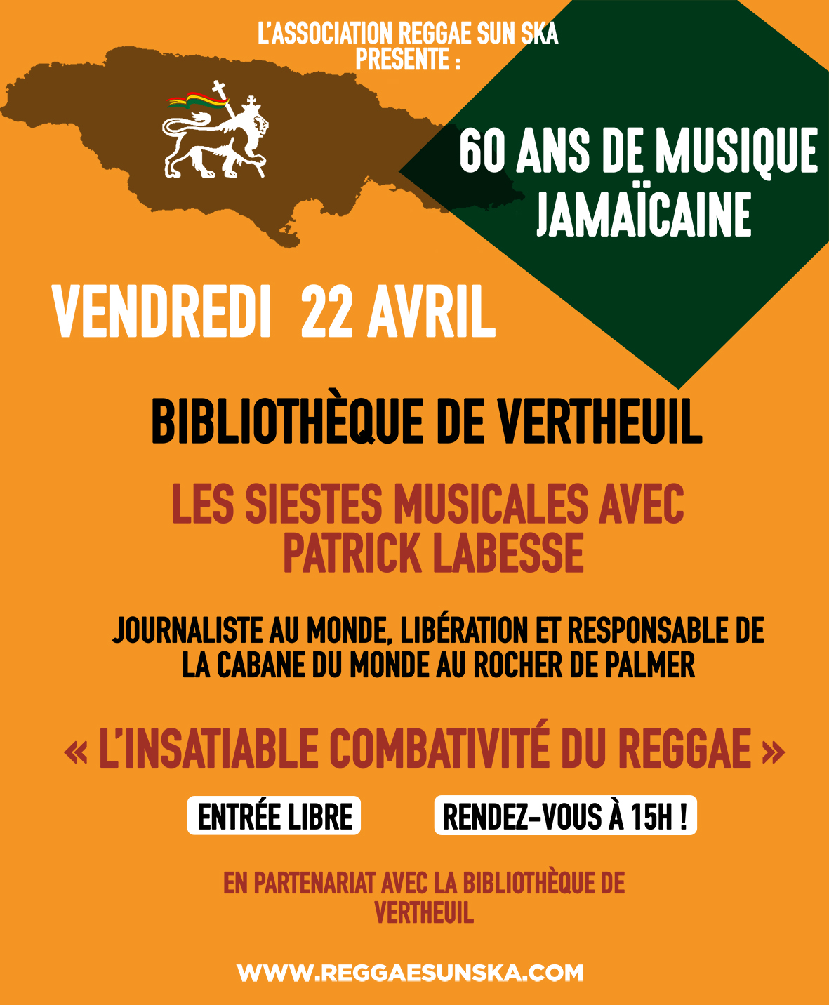 Affiche siestes musicales 22 avril