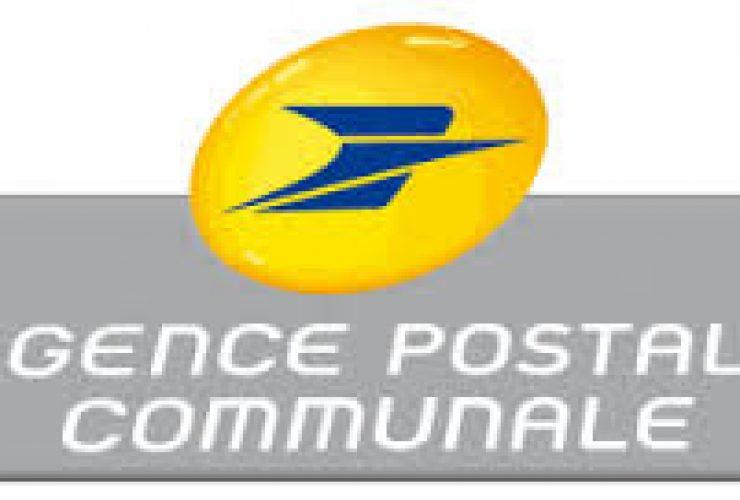 Nouveaux horaires de l'Agence Postale Communale