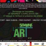 Invitation à la Semaine de l'art